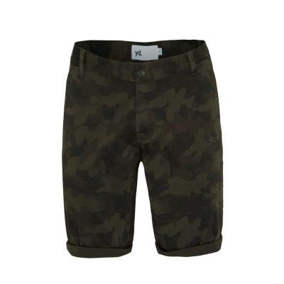 Fashion 4 Men - yd. Branden Short Camo Khaki 33