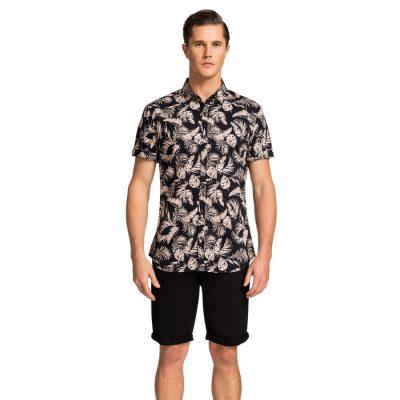 Fashion 4 Men - yd. Issa Ss Shirt Black S