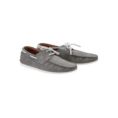 Fashion 4 Men - yd. Jack Boat Shoe Grey 8