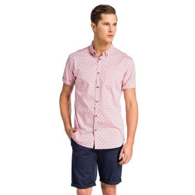 Fashion 4 Men - yd. Jaiden Ss Shirt Dusty Pink Xs