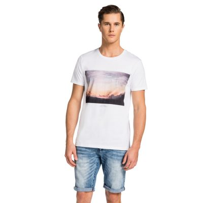 Fashion 4 Men - yd. Kaula Tee Whit L