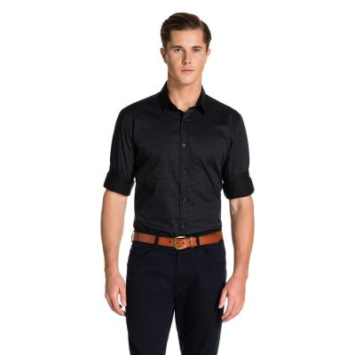 Fashion 4 Men - yd. Keegan Shirt Black L