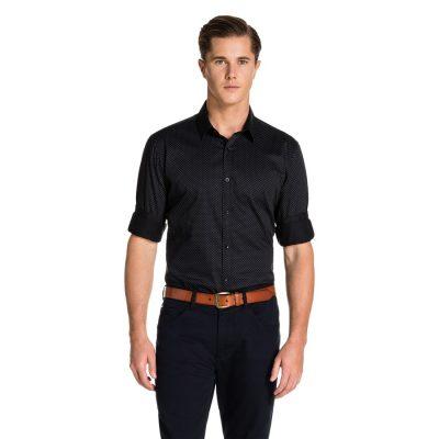 Fashion 4 Men - yd. Keegan Shirt Black Xxxl