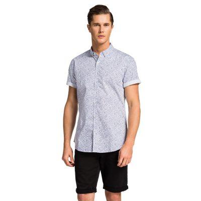Fashion 4 Men - yd. Kenjo S/S Shirt White Xs