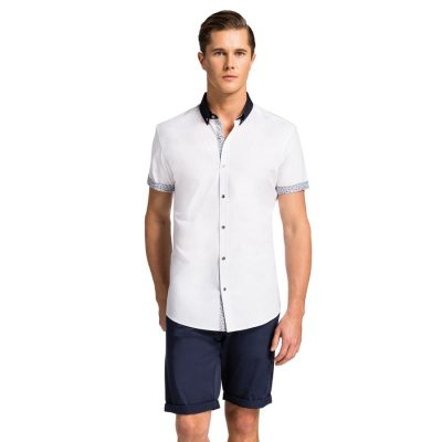 Fashion 4 Men - yd. Lanai S/S Shirt White L