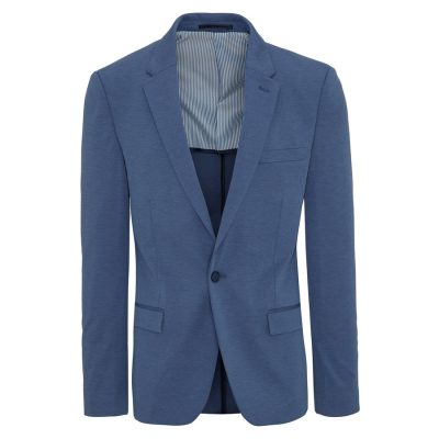 Fashion 4 Men - yd. Lt Wt Ponte Blue Xxxl