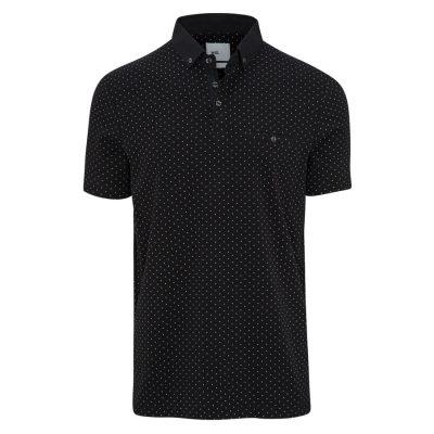 Fashion 4 Men - yd. Maddox Polo Black 3 Xl