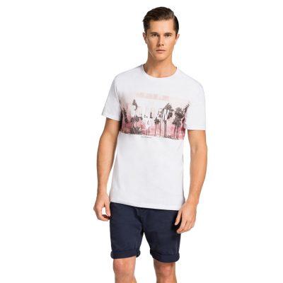 Fashion 4 Men - yd. Moku Tee Wht 2 Xs