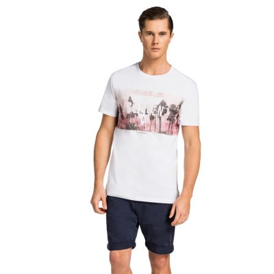 Fashion 4 Men - yd. Moku Tee Wht S