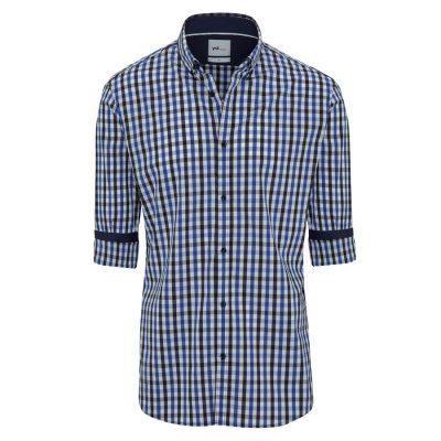 Fashion 4 Men - yd. Montague Slim Fit Shirt Blue L