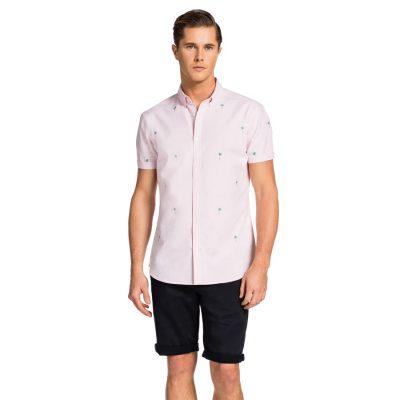 Fashion 4 Men - yd. Mullin Ss Shirt Pink Xs