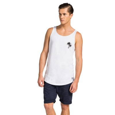 Fashion 4 Men - yd. Singlet Glover White L