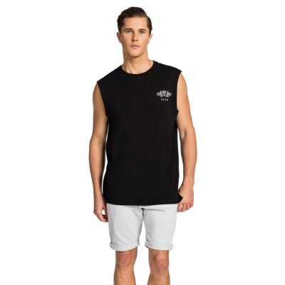 Fashion 4 Men - yd. Singlet Maslow Muscle Fit Black S