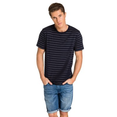 Fashion 4 Men - yd. Tahiti Tee Navy Xl