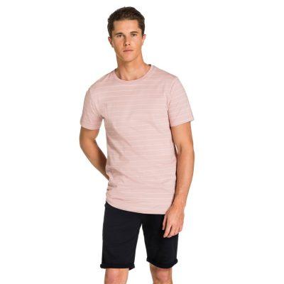 Fashion 4 Men - yd. Tahiti Tee Pink Xl