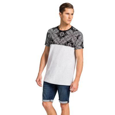 Fashion 4 Men - yd. Tate Tee White 3 Xl