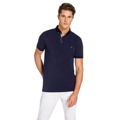 Fashion 4 Men - yd. Tayte Polo Blue S