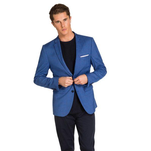 Fashion 4 Men - yd. Windsor Blazer Blue Xxxl