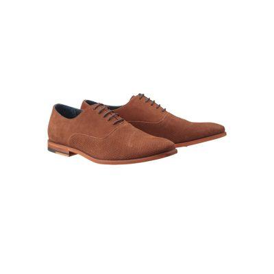 Fashion 4 Men - Tarocash Andover Suede Shoe Tan 7