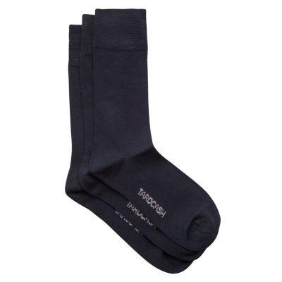 Fashion 4 Men - Tarocash Bamboo 3 Pk Sock Navy 1