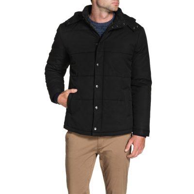 Fashion 4 Men - Tarocash Cameron Puffer Jacket Black S