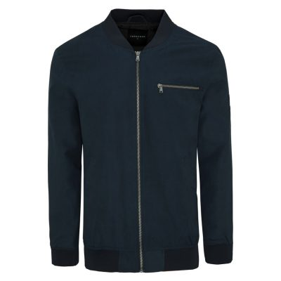 Fashion 4 Men - Tarocash Chewy Bomber Jacket Navy S