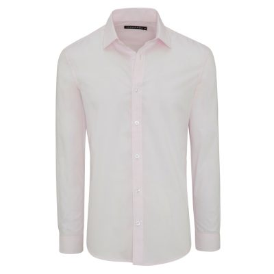 Fashion 4 Men - Tarocash Edgar Dress Shirt Pink L