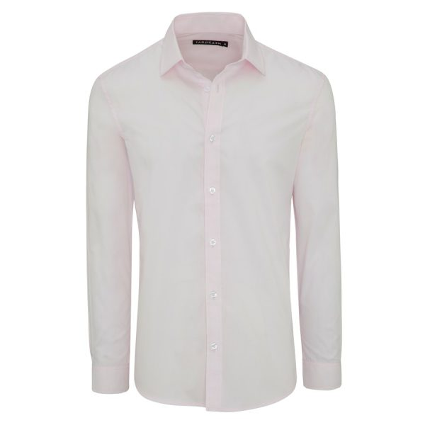 Fashion 4 Men - Tarocash Edgar Dress Shirt Pink L
