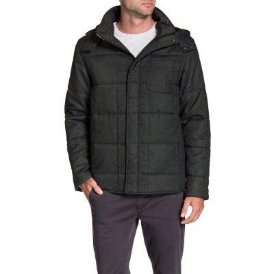 Fashion 4 Men - Tarocash General Puffer Jacket Charcoal Xxxl