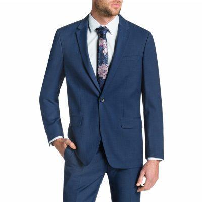 Fashion 4 Men - Tarocash Nixon 1 Button Suit Blue 34