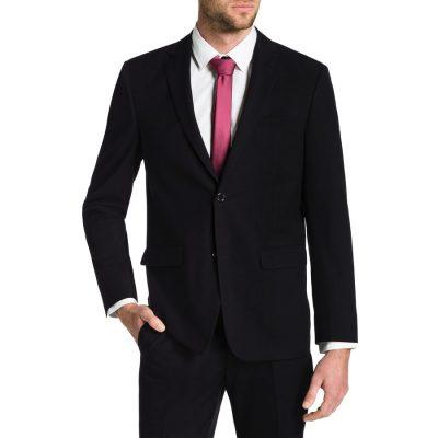Fashion 4 Men - Tarocash Roger 2 Button Suit Black 46