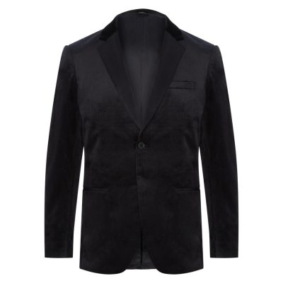 Fashion 4 Men - Tarocash Velvet Tuxedo Jacket Black M
