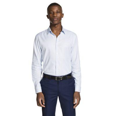 Fashion 4 Men - yd. Aston Slim Fit Dress Shirt Sky M