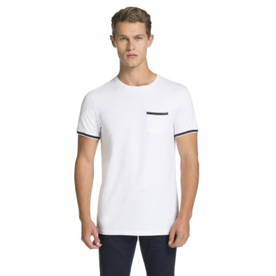 Fashion 4 Men - yd. Bronte Basic Tee White S