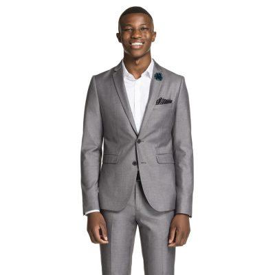 Fashion 4 Men - yd. Carrera Skinny Suit Sliver 42