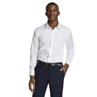 Fashion 4 Men - yd. Chapel Dress Shirt White Xl
