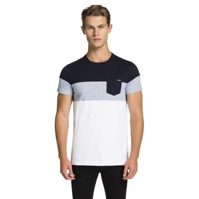 Fashion 4 Men - yd. Damon Tee Multi 2 Xl