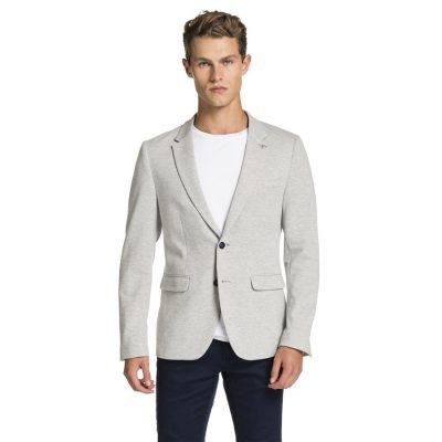 Fashion 4 Men - yd. Hanx Stretch Blazer Light Grey 3 Xs