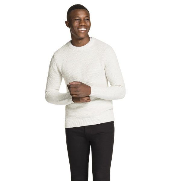 Fashion 4 Men - yd. Jayce Crew Neck Ice Grey Xs