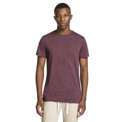 Fashion 4 Men - yd. Magnum Basic Tee Burgundy 3 Xl