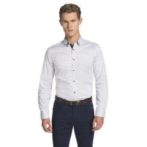Fashion 4 Men - yd. Milo Shirt White 2 Xs