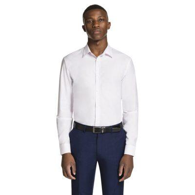 Fashion 4 Men - yd. Paolo Slim Fit Dress Shirt Pink S