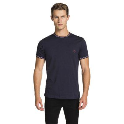 Fashion 4 Men - yd. Peak Basic Tee Navy M
