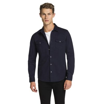 Fashion 4 Men - yd. Rayder Shirt Navy S