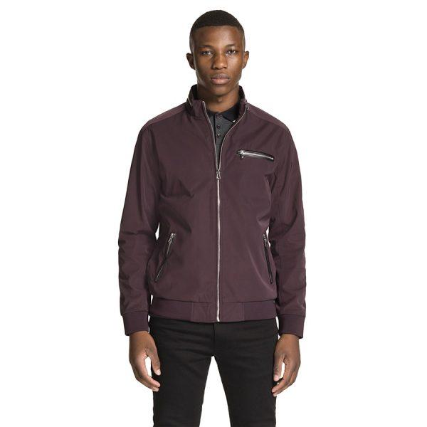 Fashion 4 Men - yd. Revolver Zip Jacket Burgundy M