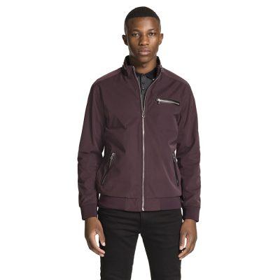 Fashion 4 Men - yd. Revolver Zip Jacket Burgundy S