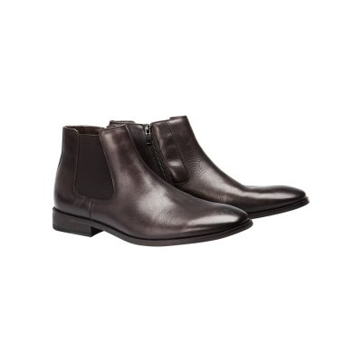 Fashion 4 Men - yd. Sax Chelsea Boot Chocolate 12