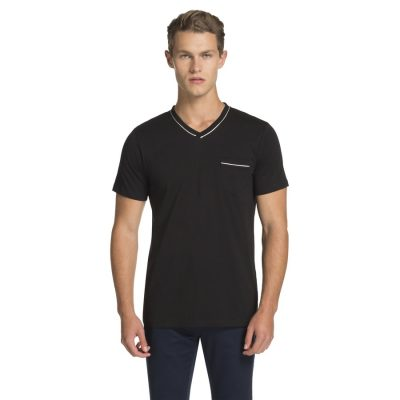 Fashion 4 Men - yd. Spike Basic Tee Black 3 Xl
