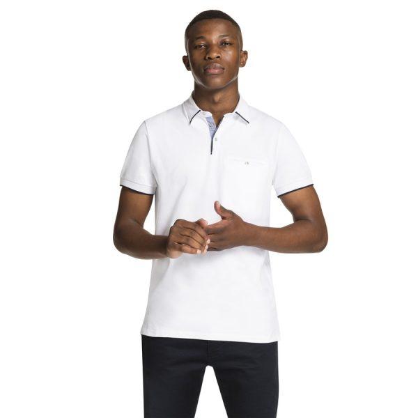 Fashion 4 Men - yd. Stan Polo White 3 Xs
