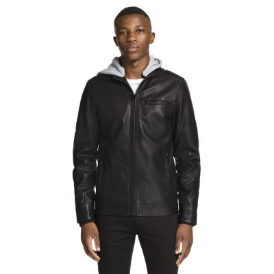 Fashion 4 Men - yd. Storm Biker Jacket Black Xxxl